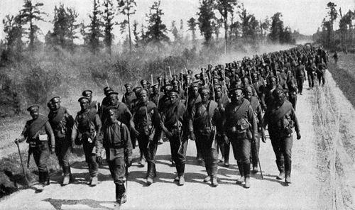 Структура соединений Российской армии в МВИ - часть 1-я
